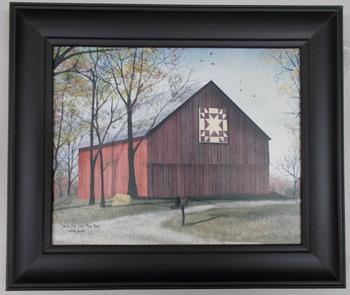 Amish Star Barn Print