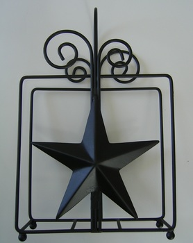 Black Star Napkin Holder