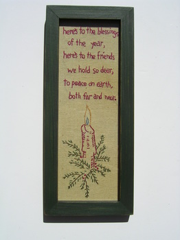 Christmas Blessings Sampler