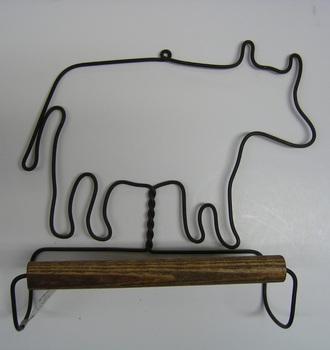Cow Towel Hanger