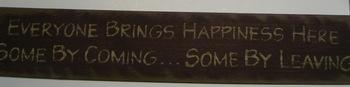 Everyone Brings Happiness