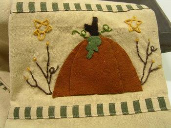 Pumpkin Star Towel