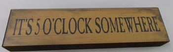 5 oclock skinny block