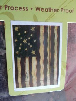 Freedoms Gate Lg Flag