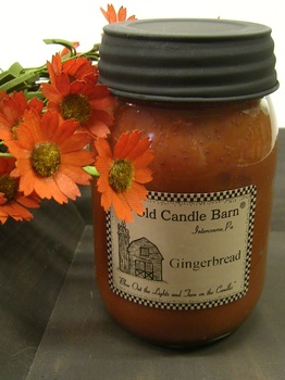 Gingerbread Jar Candle