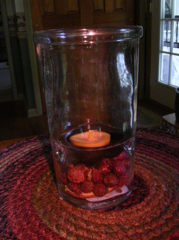 Mini Glass Tealight Cylinder