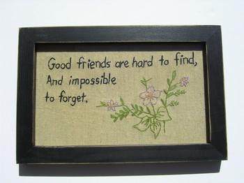 Good Friends Hard Find