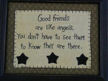 Good Friends Like Angels
