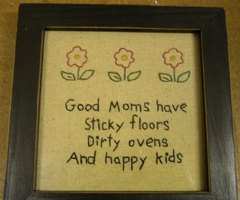 good moms sticky floors