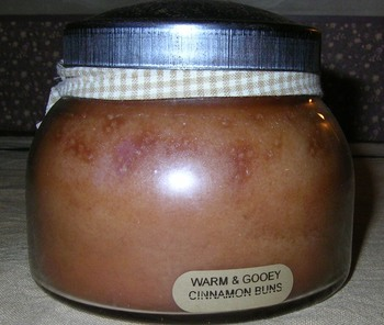 warm gooey cinnamon jar