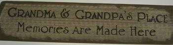 Grandma & Grandpa'S House Sign