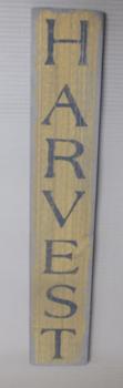 Harvest Vertical sign