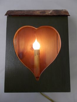 Heart Lantern Green