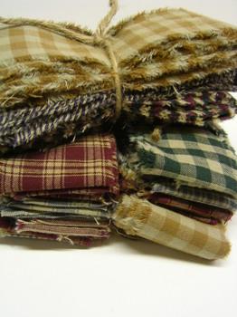 Homespun Fabric Strips
