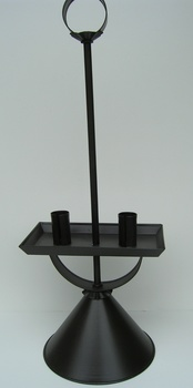 Student Lamp Antique Tin