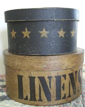 Linen Shaker box stack