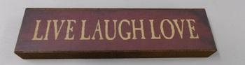 live love laugh block