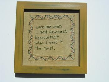 Love Me When I