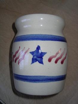 patriotic spoon jar