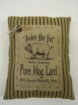 Pure Hog Lard Pillow