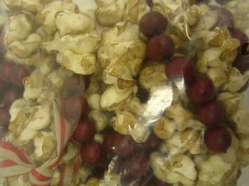 Popcorn &  Cranberry Garland