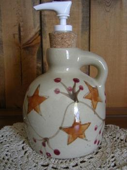 Pottery Soap Pump