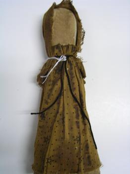 Prairie Doll Mustard Print