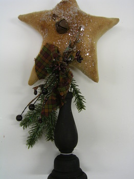 Star On Stick Christmas