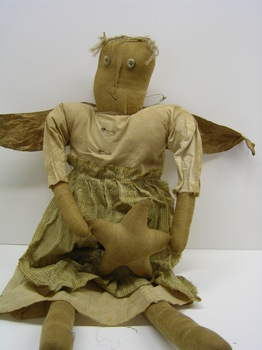 Primitive Annie Angel Doll