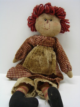Raggedy Doll Red Check Dress