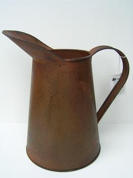 Rusty Tin Coffee Pitcher