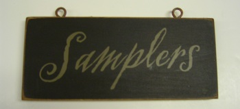 Samplers Sign