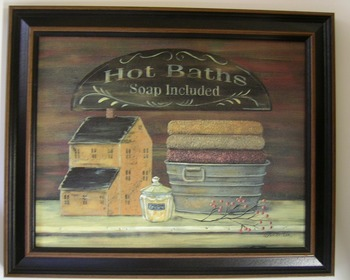 Hot Baths Print