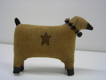 Muslin Sheep W/Star