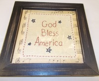 God Bless America sampler