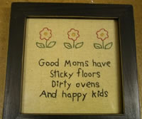 good moms sticky floors
