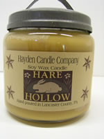 Hare Hollow Soy Jar