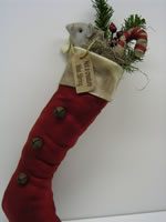 Mouse In Stocking