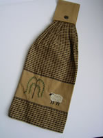 Sheep Tie Towel