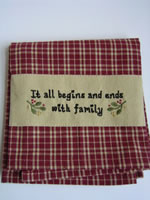Family Linen Towel