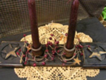 Star Candle Board