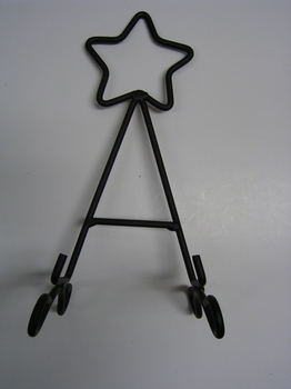 Black Star Easel