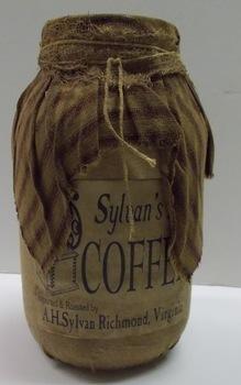 Sylvans coffee Jar