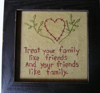 Treat Your Friends Stitchery