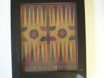 Wk Backgammon Print