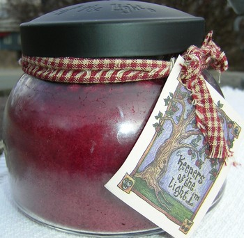 Juicy Apple Jar Candle