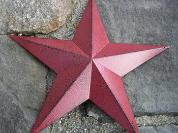 Red Tin  Star