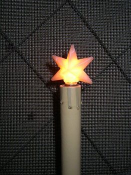 Small Silicone Star Bulb