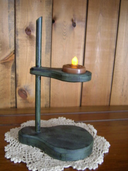 Small Green Tealight Lamp