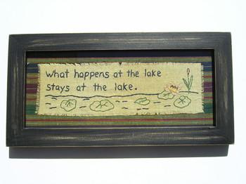 What Happens At Lake